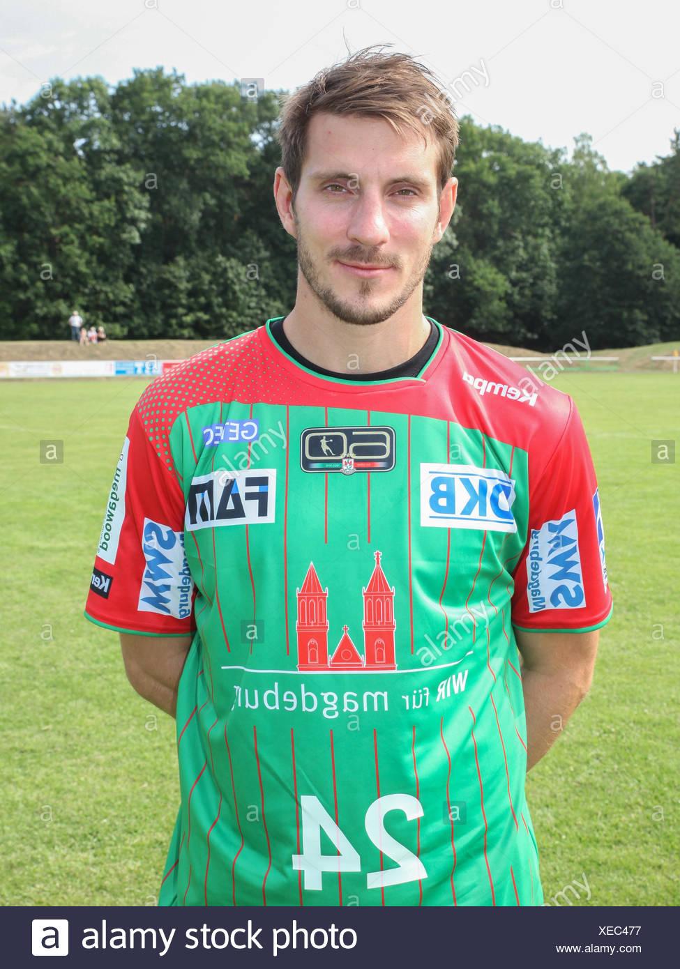 Michael Haaß (SC Magdeburg) Stock Photo