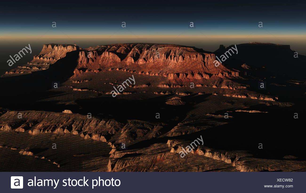 Wadi Rum, Jordania - Stock Image