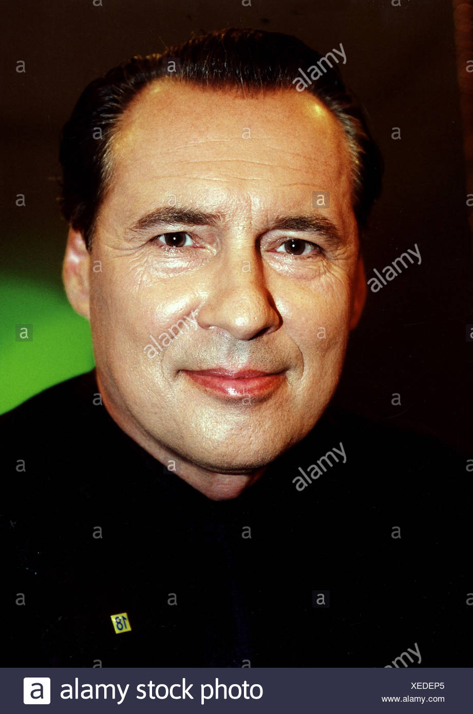 Bond, Peter, * 29.10.1952, German presenter and politician (FDP), portrait, 2002, Additional-Rights-Clearances-NA - Stock Image