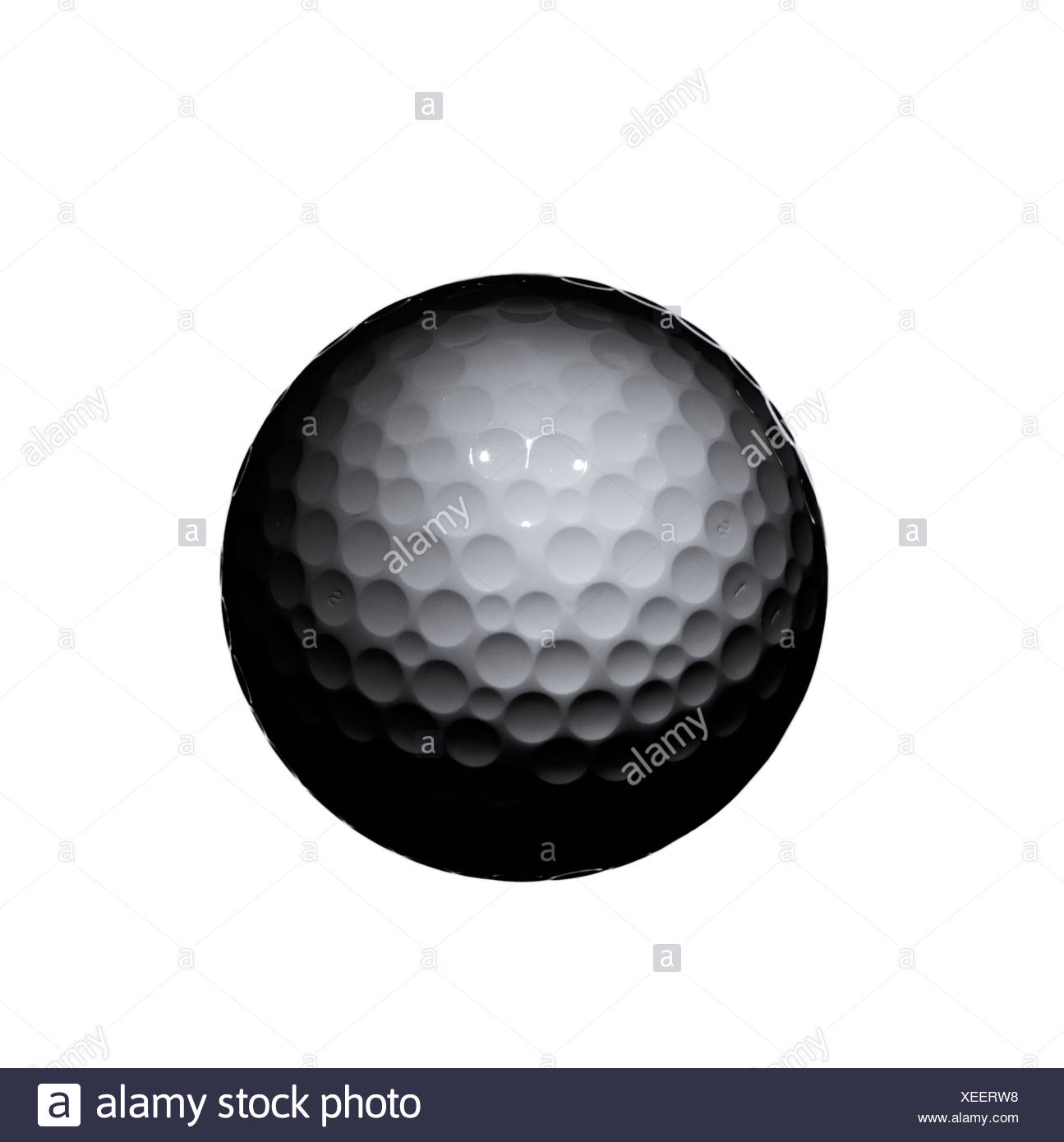 Golfball. - Stock Image