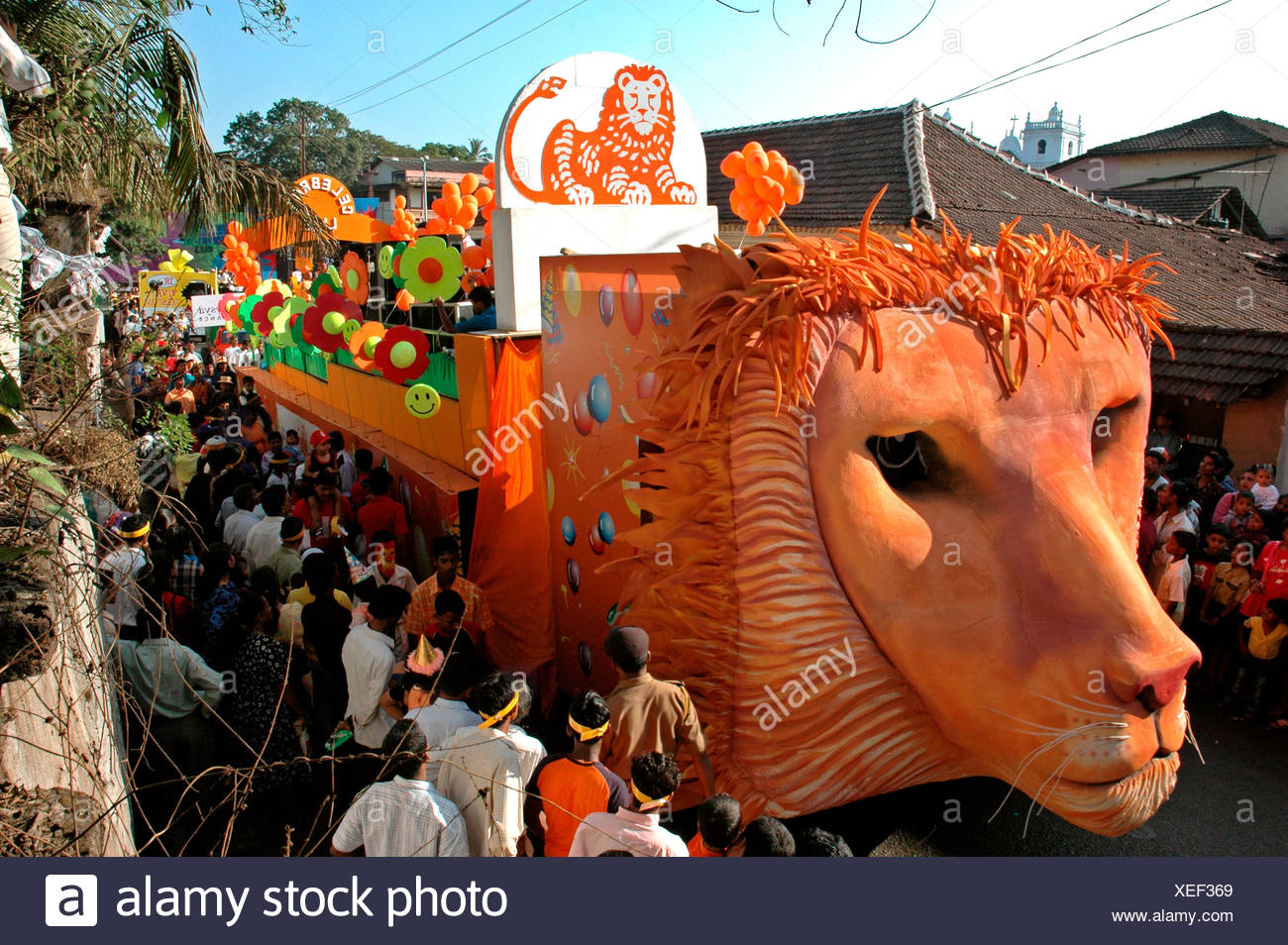 Tableau Carnival - Stock Image