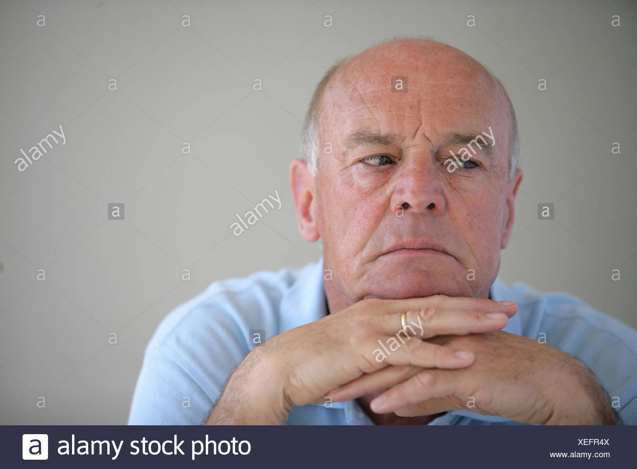 grandpa, grandfather, isolated, sad, human, human being, person, blank, Stock Photo