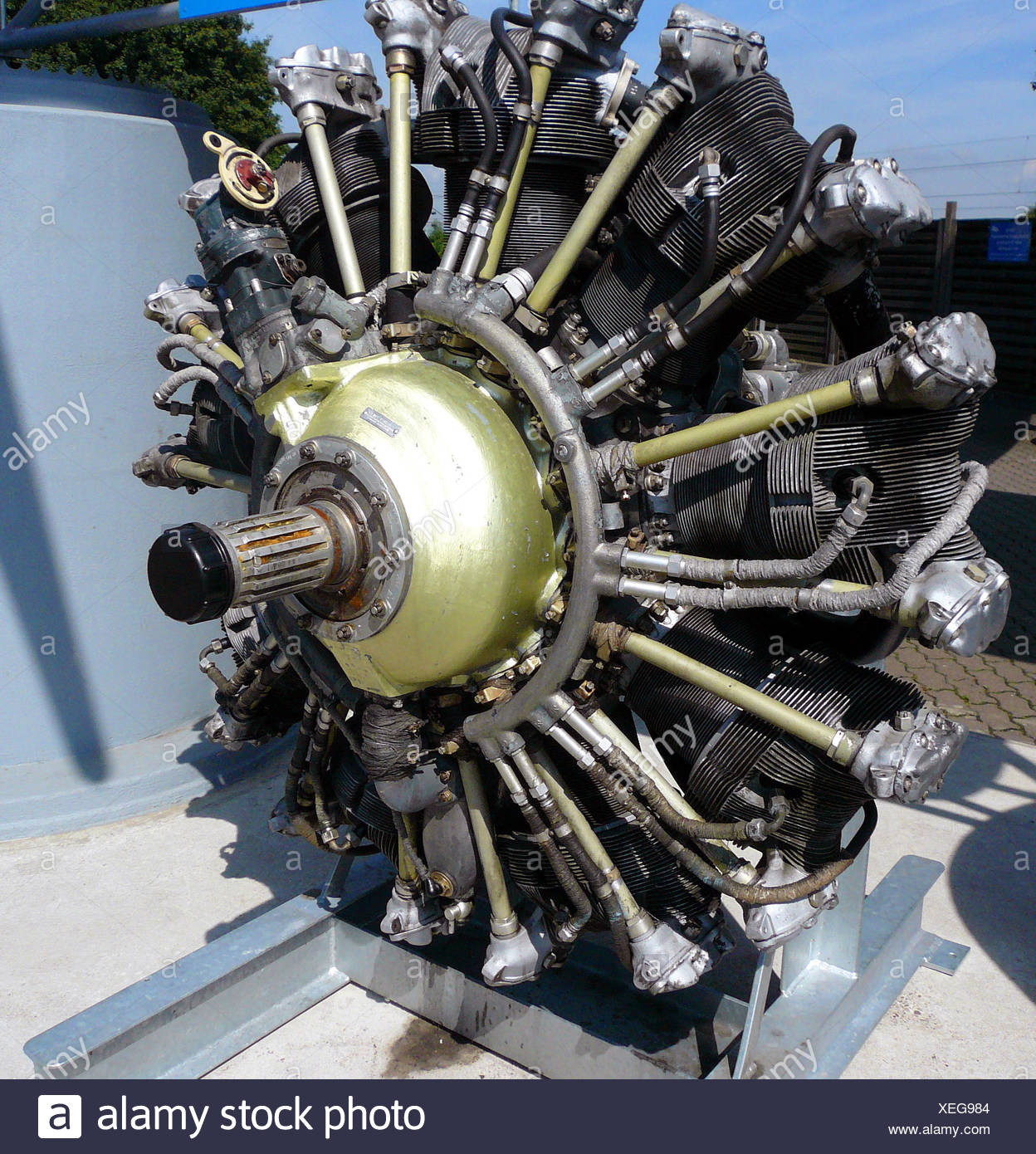 Radial EngineStock Photos and Images