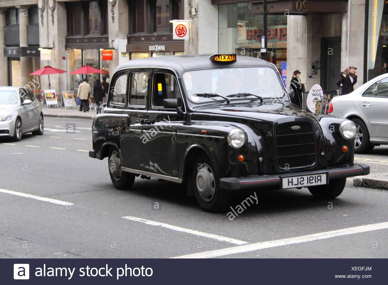 London Cab - Stock Image