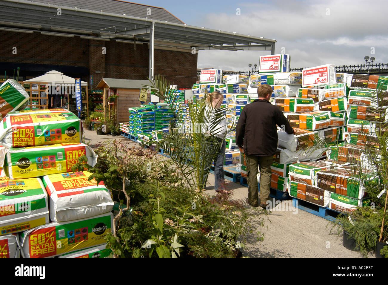 People shopping focus diy do it yourself and garden centre store people shopping focus diy do it yourself and garden centre store parc y llyn aberystwyth garden plants and flowers paraphanalia solutioingenieria Image collections