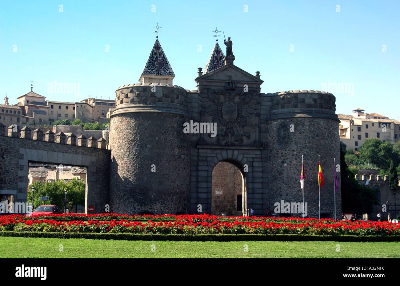 Spain Toledo Castilla La Mancha Puerta Nueva De Bisagra