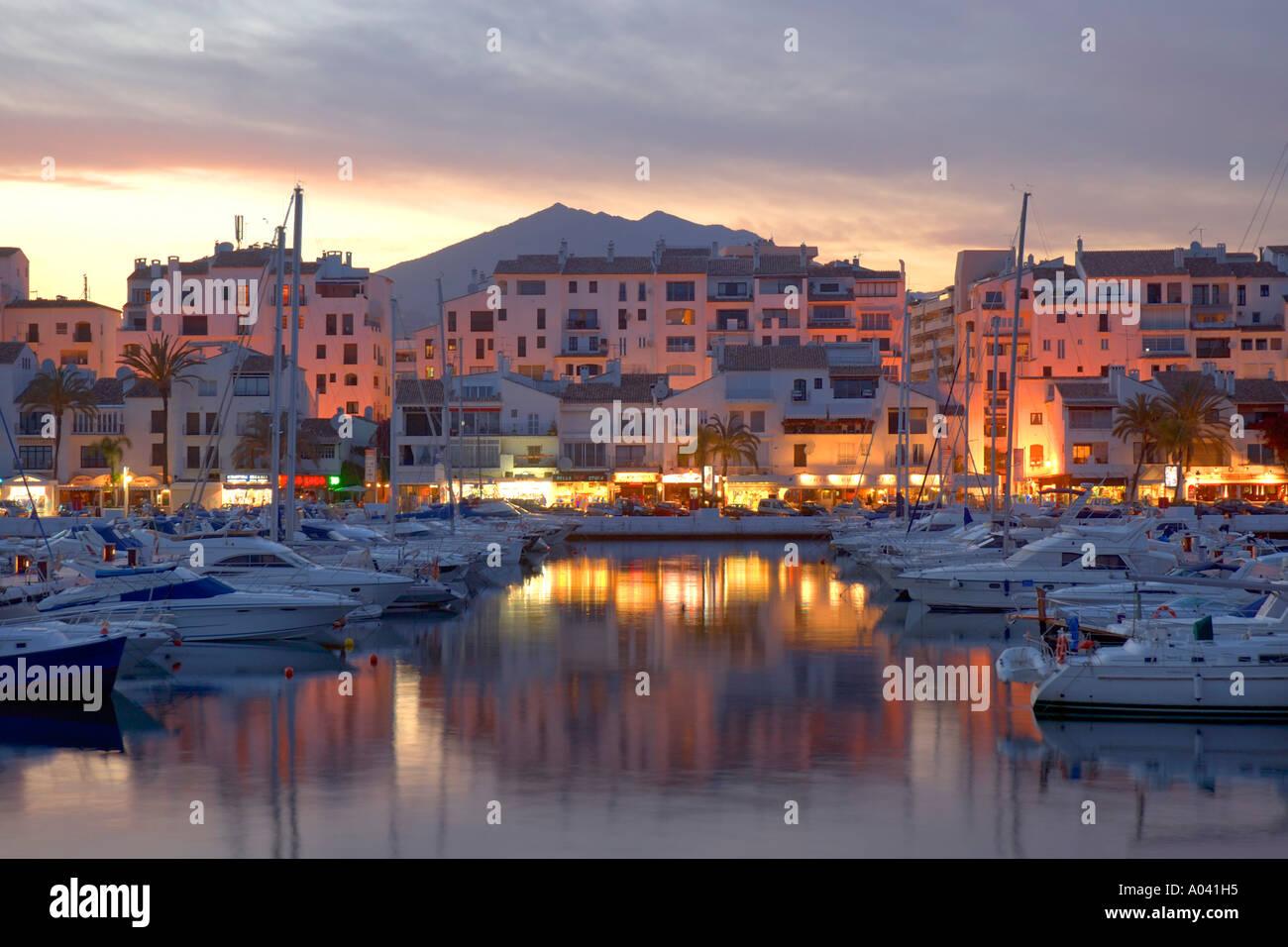 Puerto Banus Marina Marbella Malaga Province Andalucia Spain Stock Photo Royalty Free Image