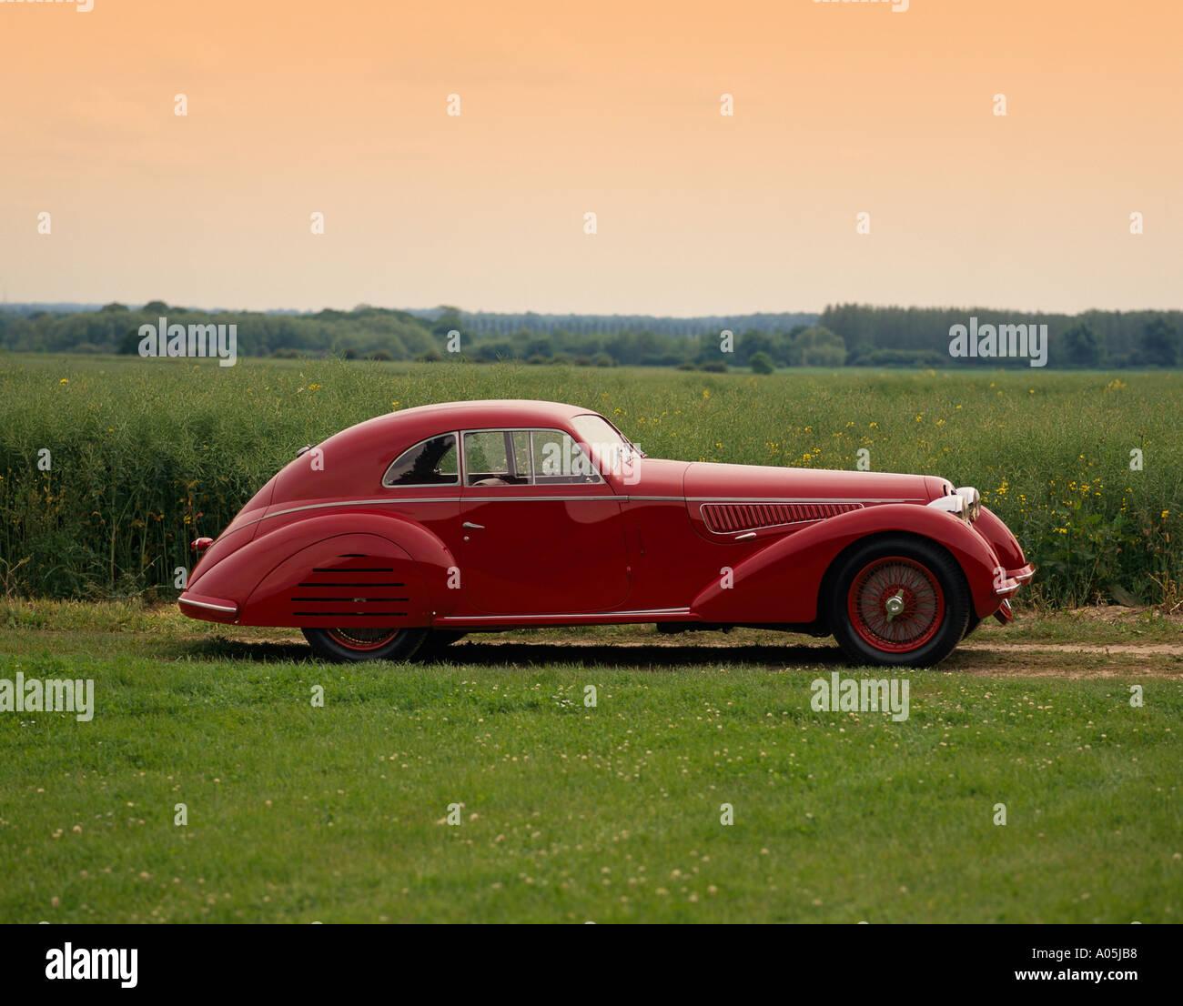 1939 Alfa Romeo 8C 2900B Lungo Berlinetta 3 0 Litre