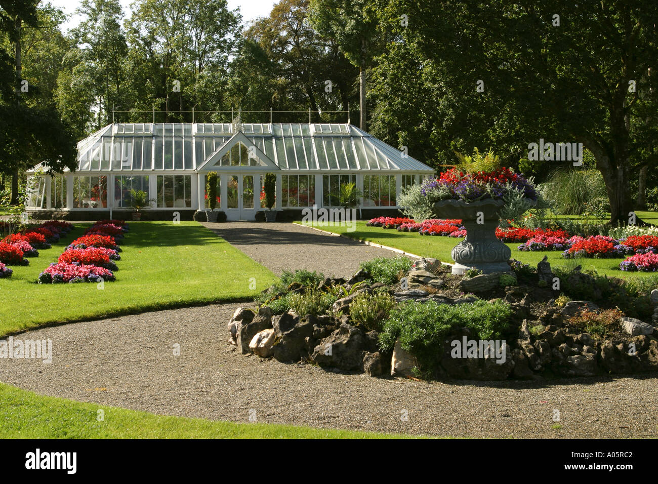Ireland County Mayo Turlough Turlough House Country Life Museum Glass House  And Formal Garden