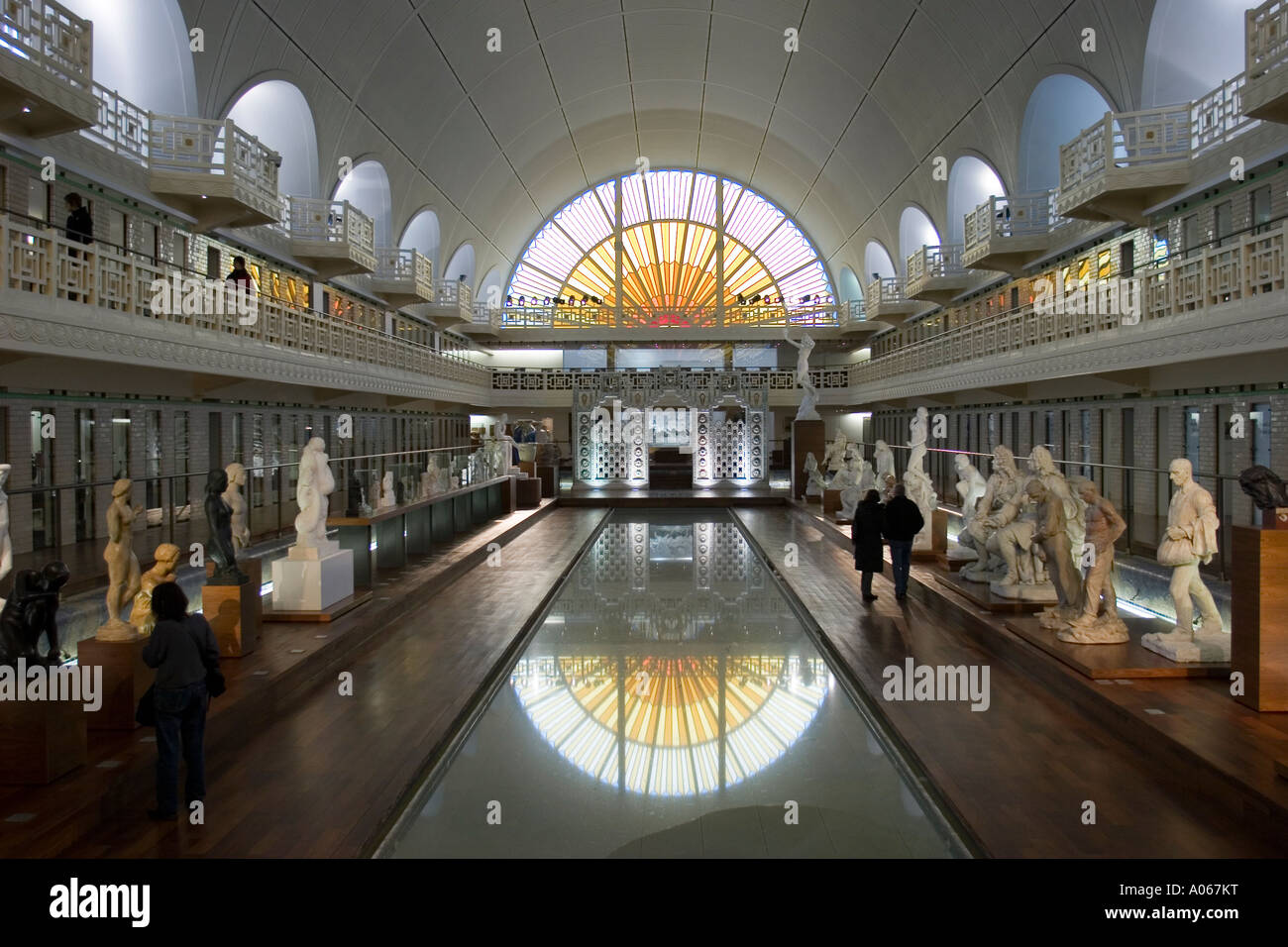 Art and industry museum la piscine lille france stock for Piscine a lille