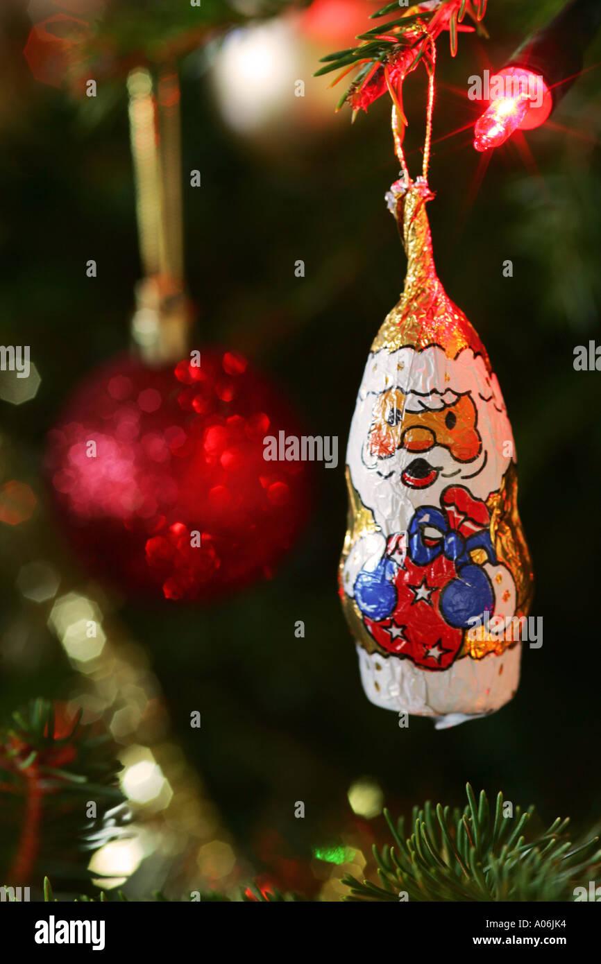 Father Xmas Christmas Santa Claus Saint Nicholas chocolate tree ...