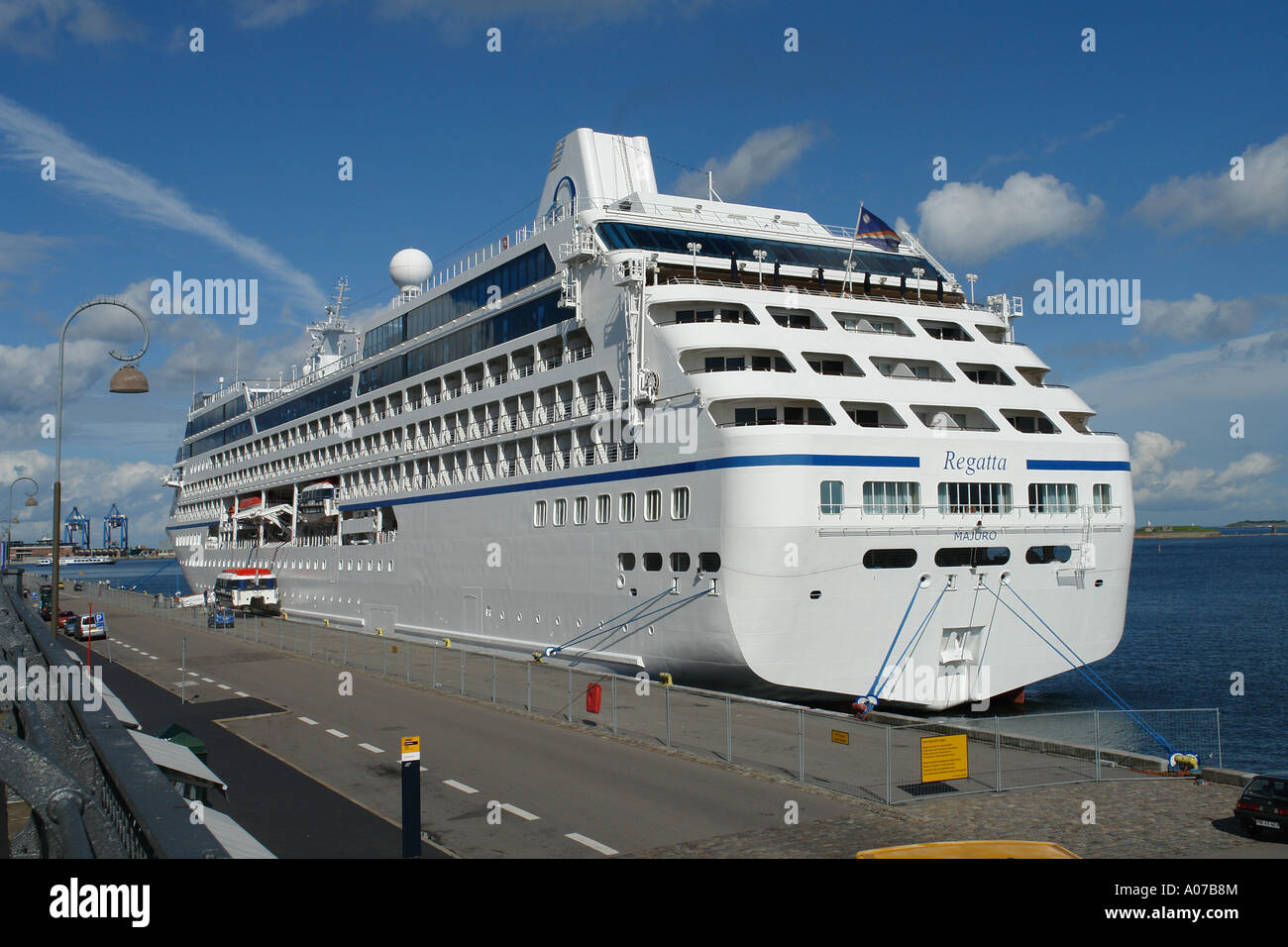 Cruise Ship Regatta Moored At Langelinie In Copenhagen Harbour - Cruise ship copenhagen