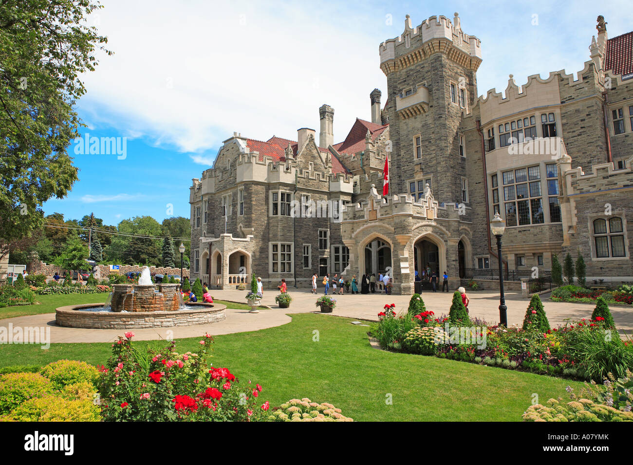 Toronto casa loma stock photo royalty free image for Casa loma mansion toronto