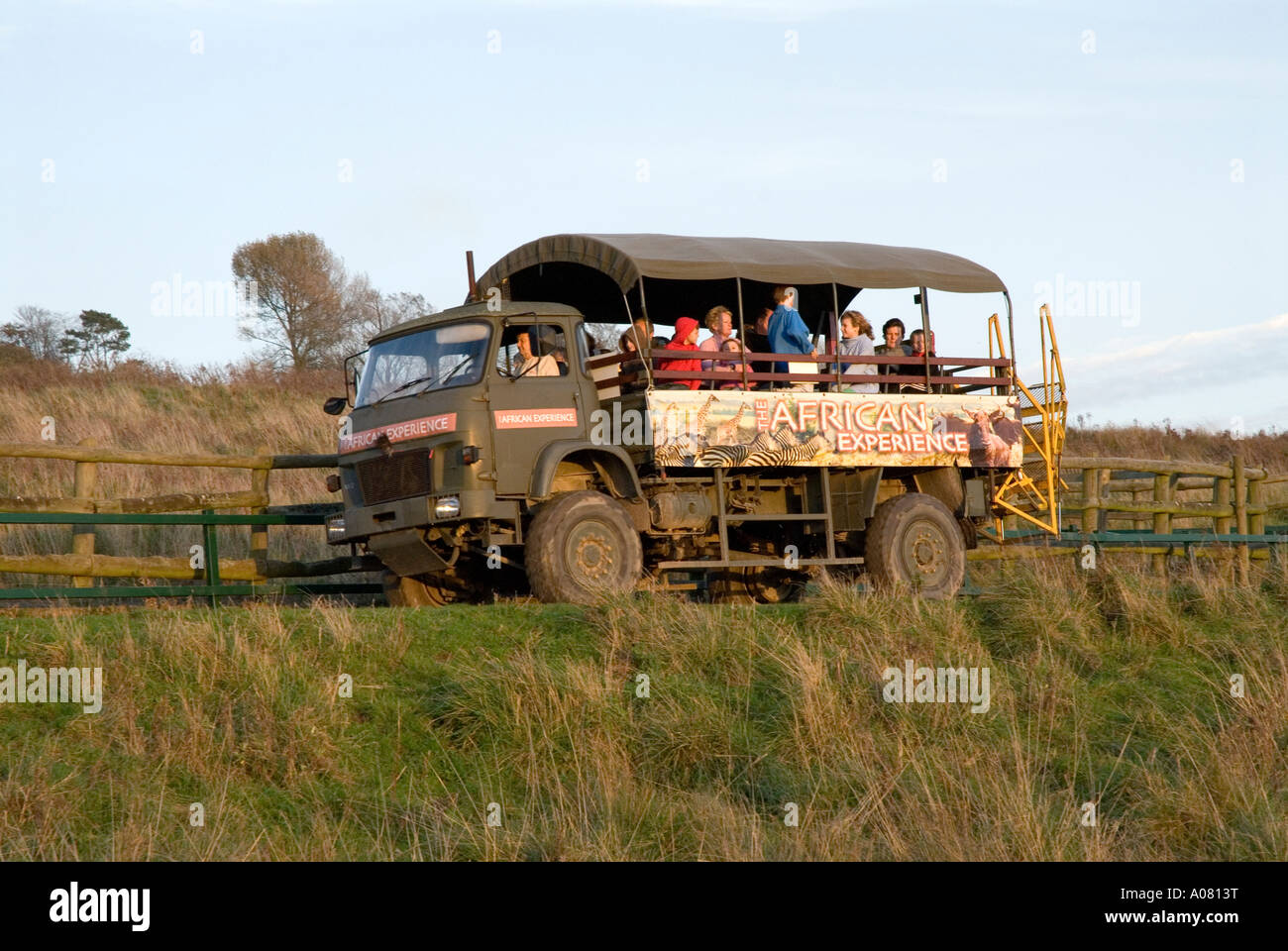 The African Experience safari truck at Port Lympne Wild ...