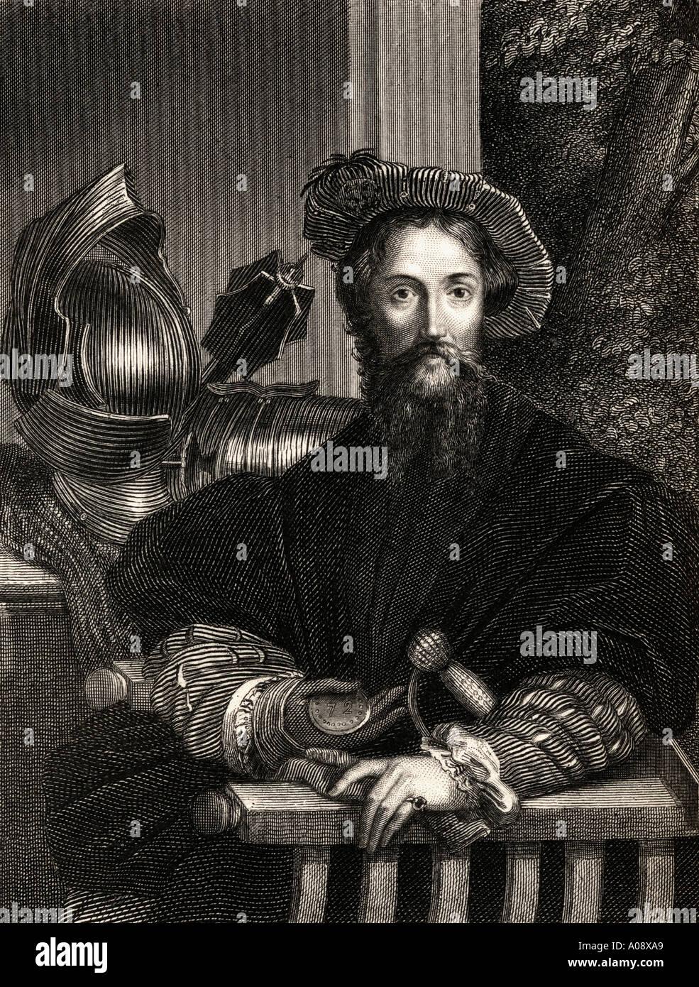 Christopher columbus 1451 1506 italian born spanish financed explorer discoverer of america