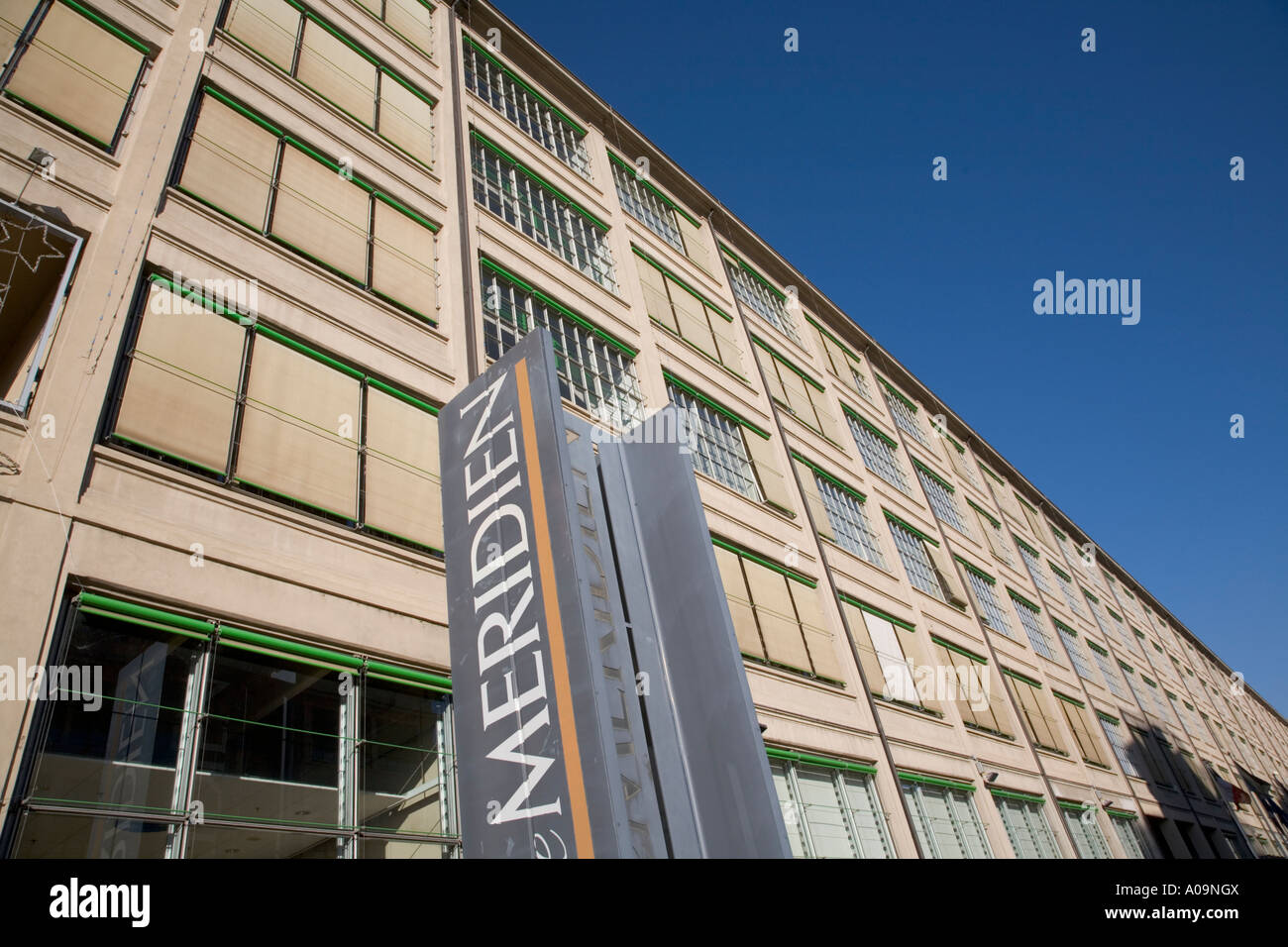 Le Meridien Hotel In Former Fiat Factory Lingotto Turin