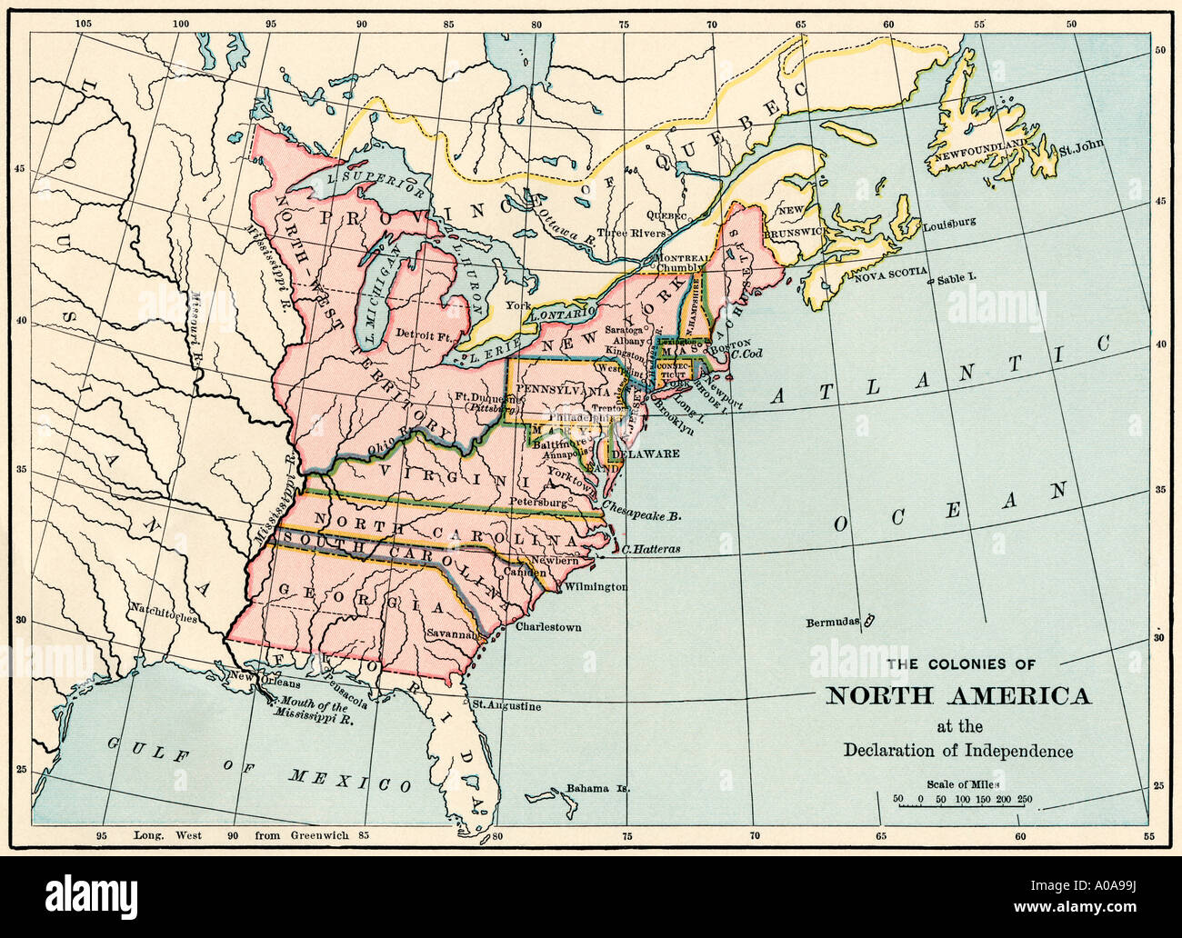an introduction to the british colonies in north america The english colonists, meanwhile, just barely survived, suffering through   assembly convened, bringing limited self-government to america.