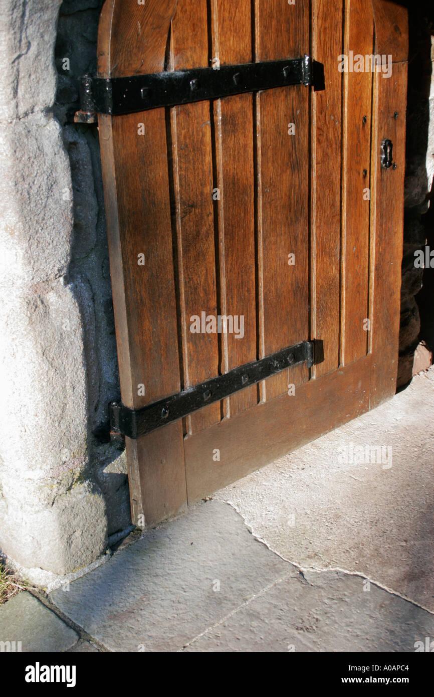 Heavy wooden castle door Stock Photo, Royalty Free Image: 3243715 ...