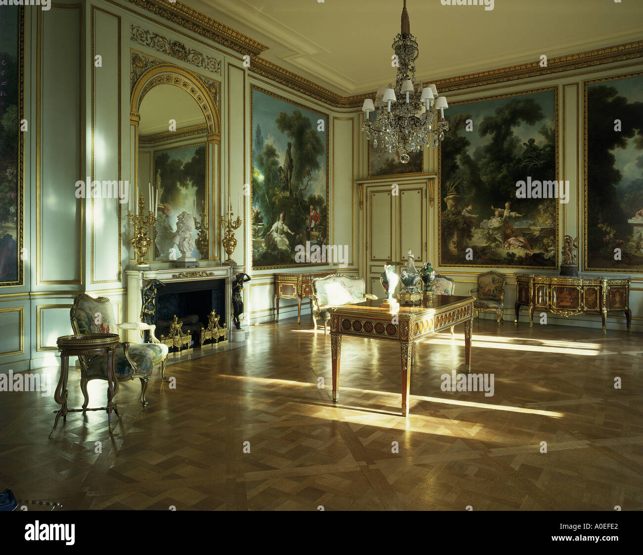 The Frick Collection Fifth Avenue New York Fragonard Room