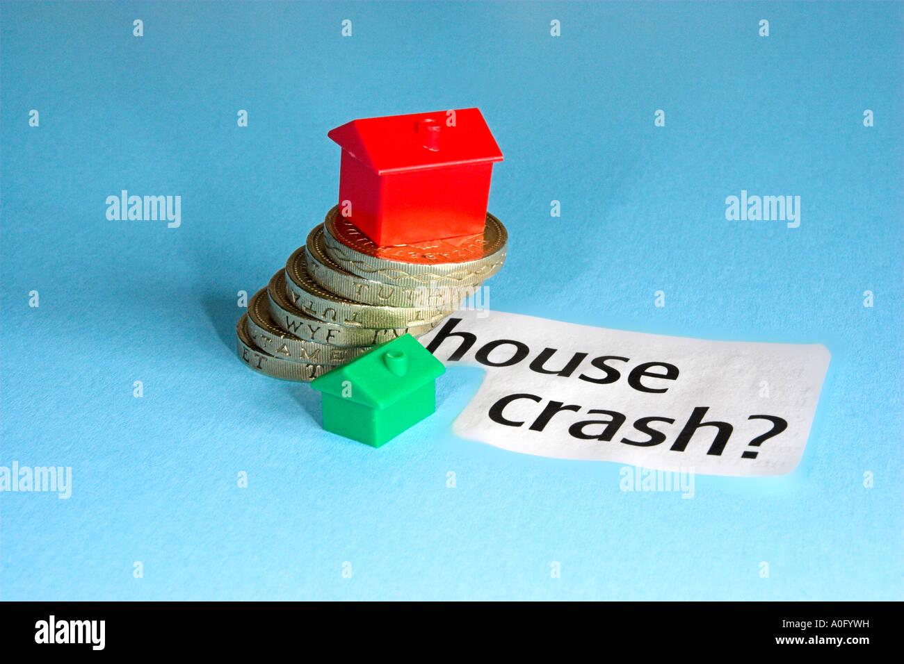 house price crash stock photo, royalty free image: 9984988 - alamy