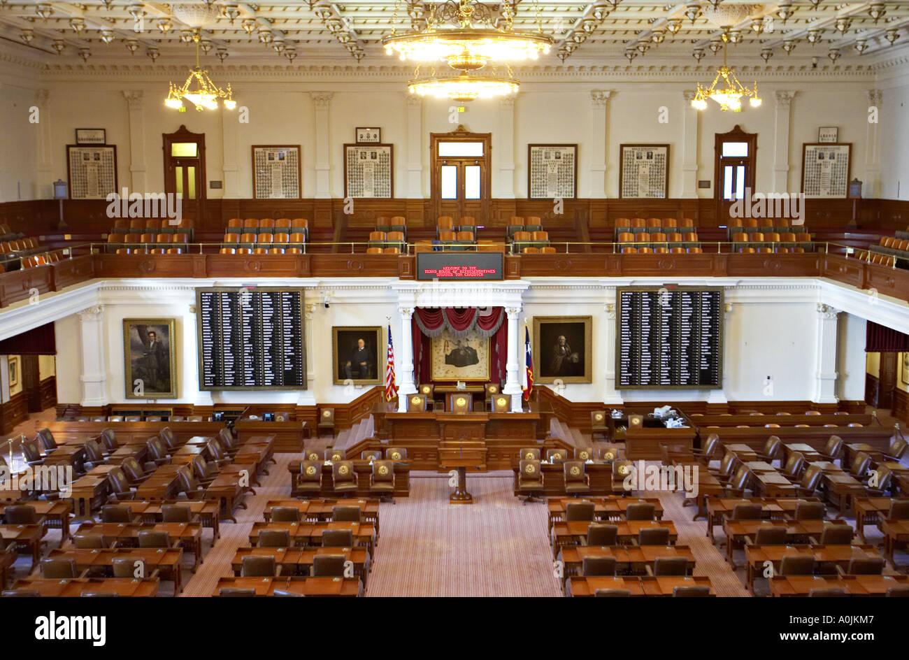Texas Austin House Of Representatives State Capitol