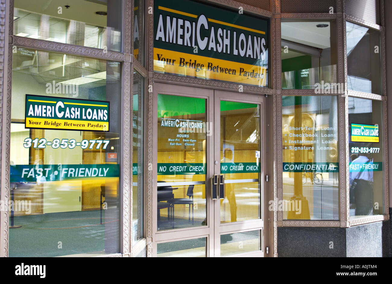 Cash Store Cities in Illinois