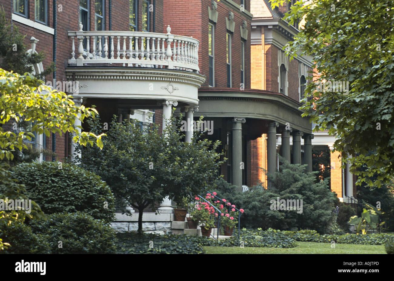 Kentucky Louisville Homes In Old Louisville Historic