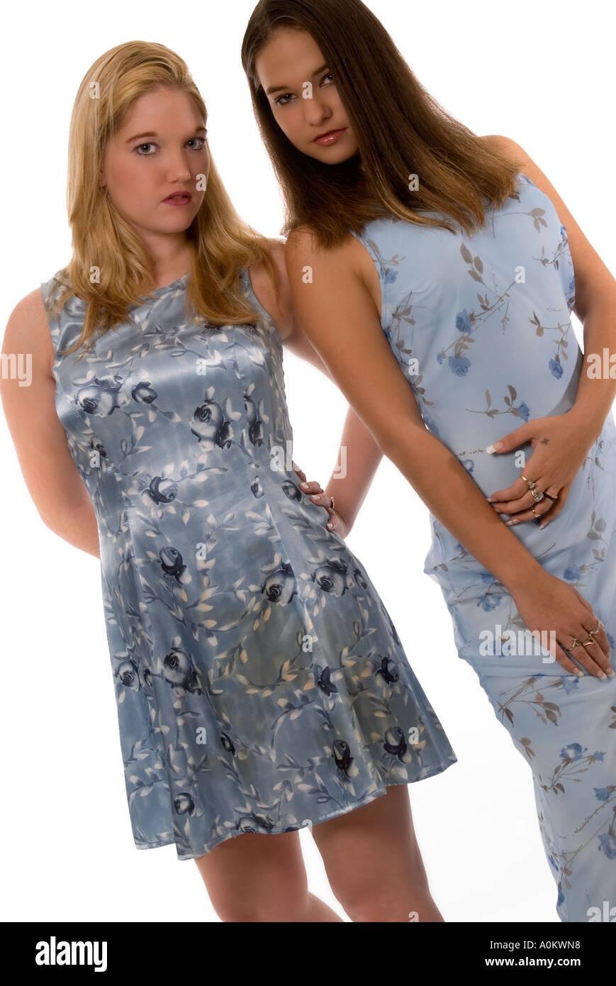 Caucasian Teen Girls18 To19 Years USA Stock Photo, Royalty