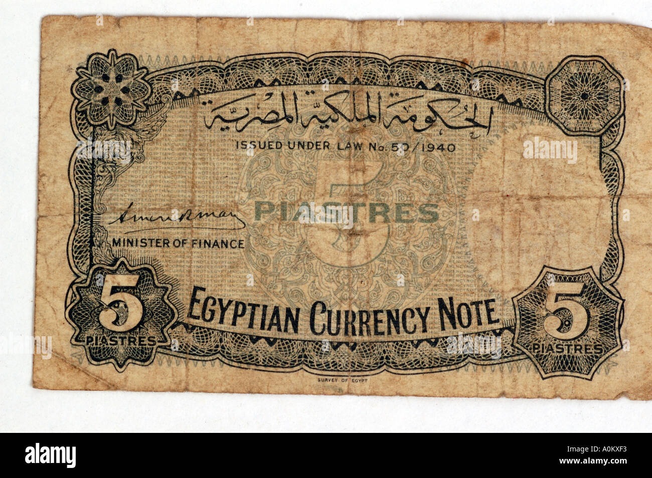 Old egyptian bank note currency stock photo 3272434 alamy old egyptian bank note currency biocorpaavc Images