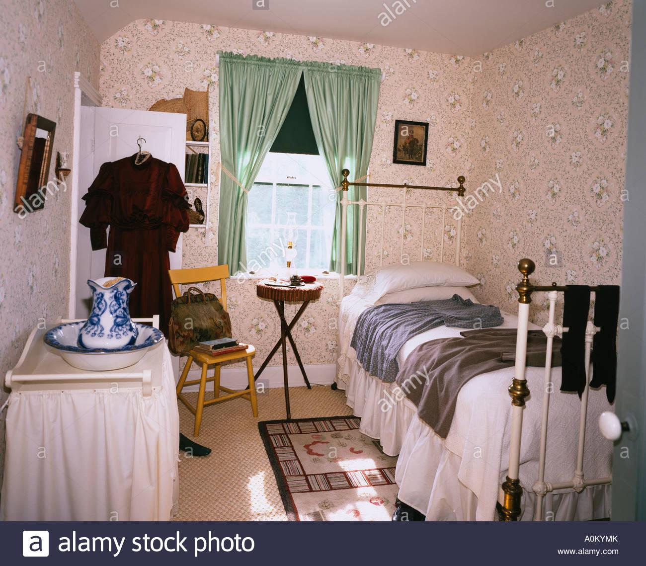 anne s room green gables house prince edward island canada stock