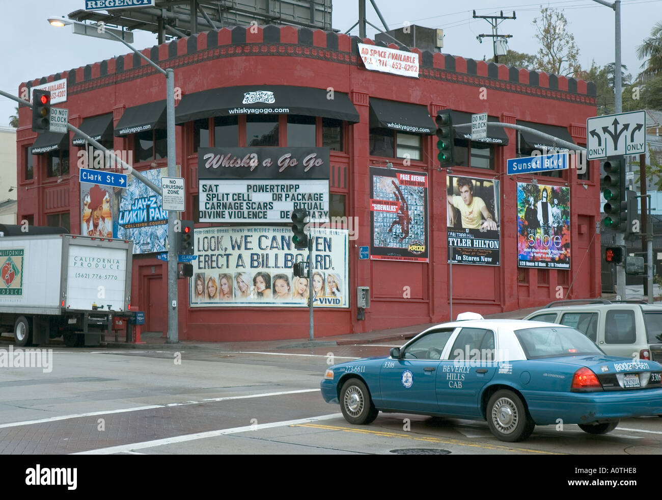 beverly hills casting stock photos beverly hills casting stock the whiskey a go go music venue on sunset boulevard in west hollywood stock image