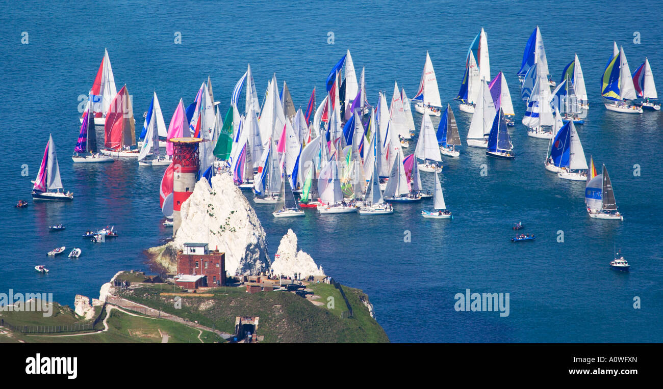 Round The Island Race Isle Of Wight