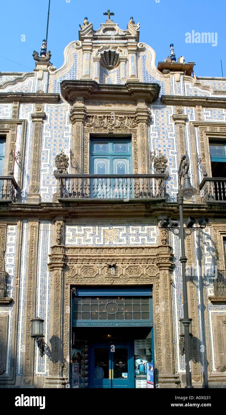 House of tiles casa de los azulejos in mexico city stock for House of tiles mexico city