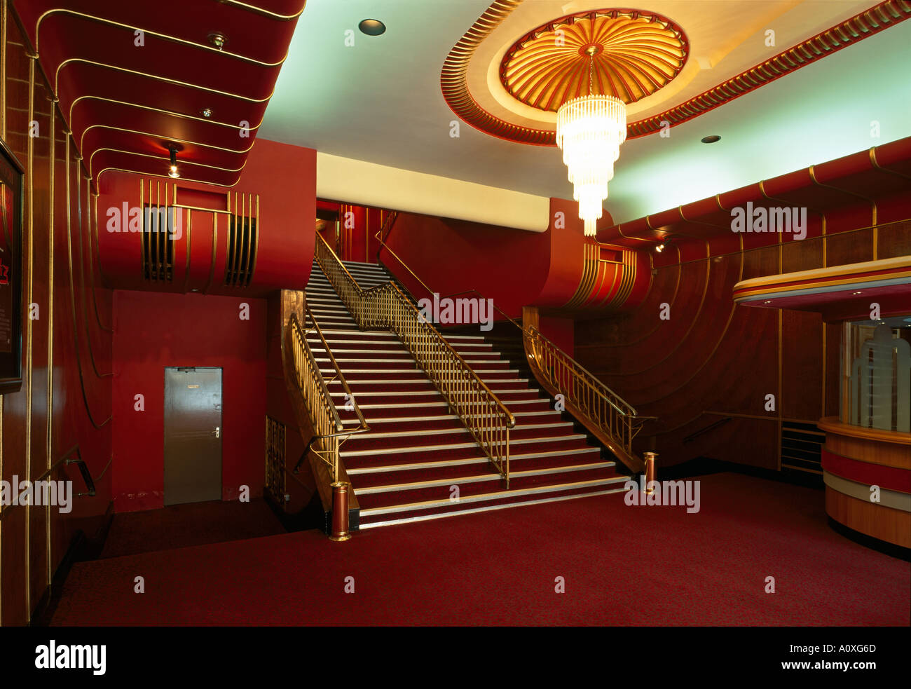 art deco cinema interior stock photos & art deco cinema interior
