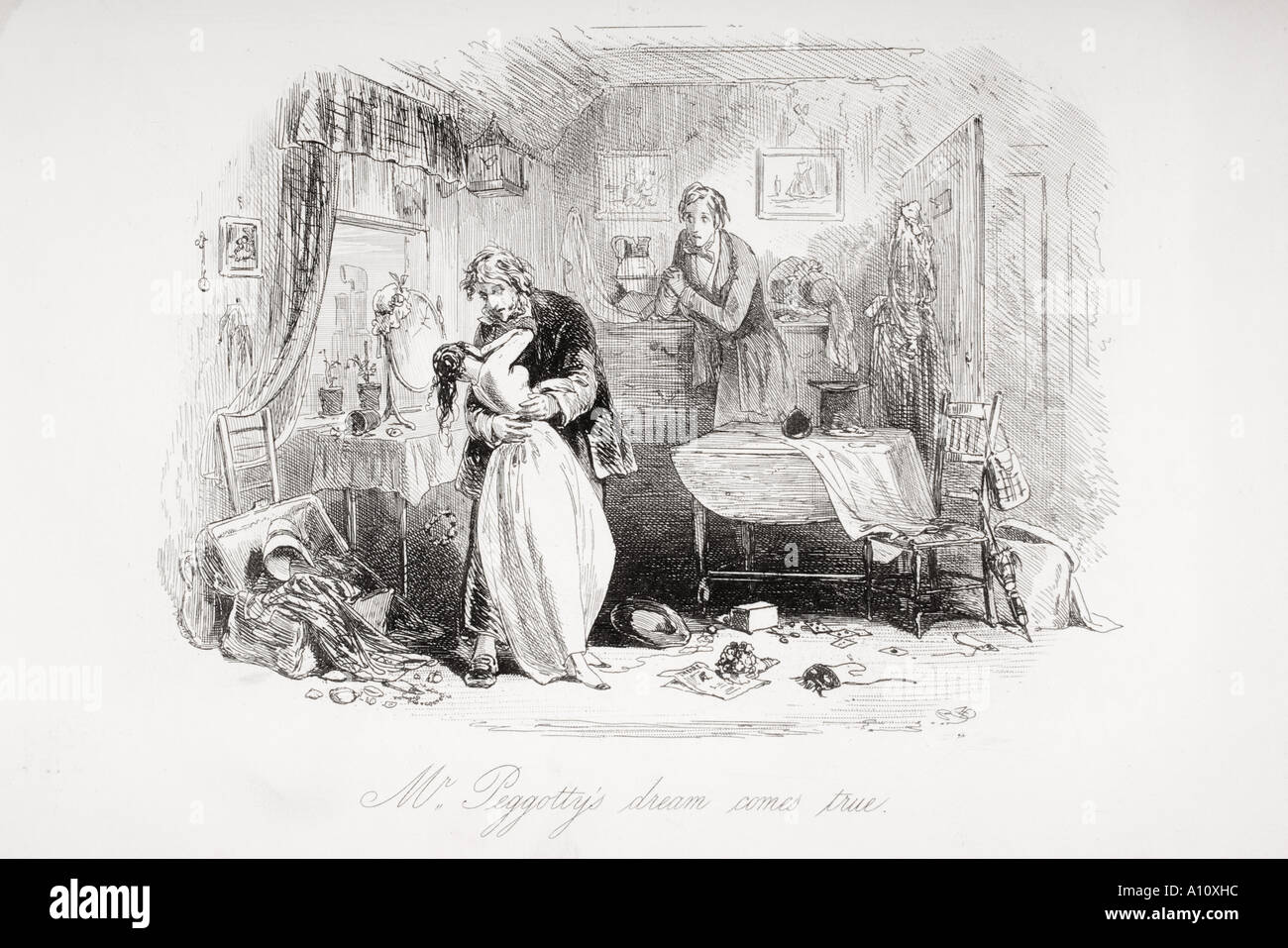 mr peggotty s dream comes true illustration from the charles mr peggotty s dream comes true illustration from the charles dickens novel david copperfield by h k