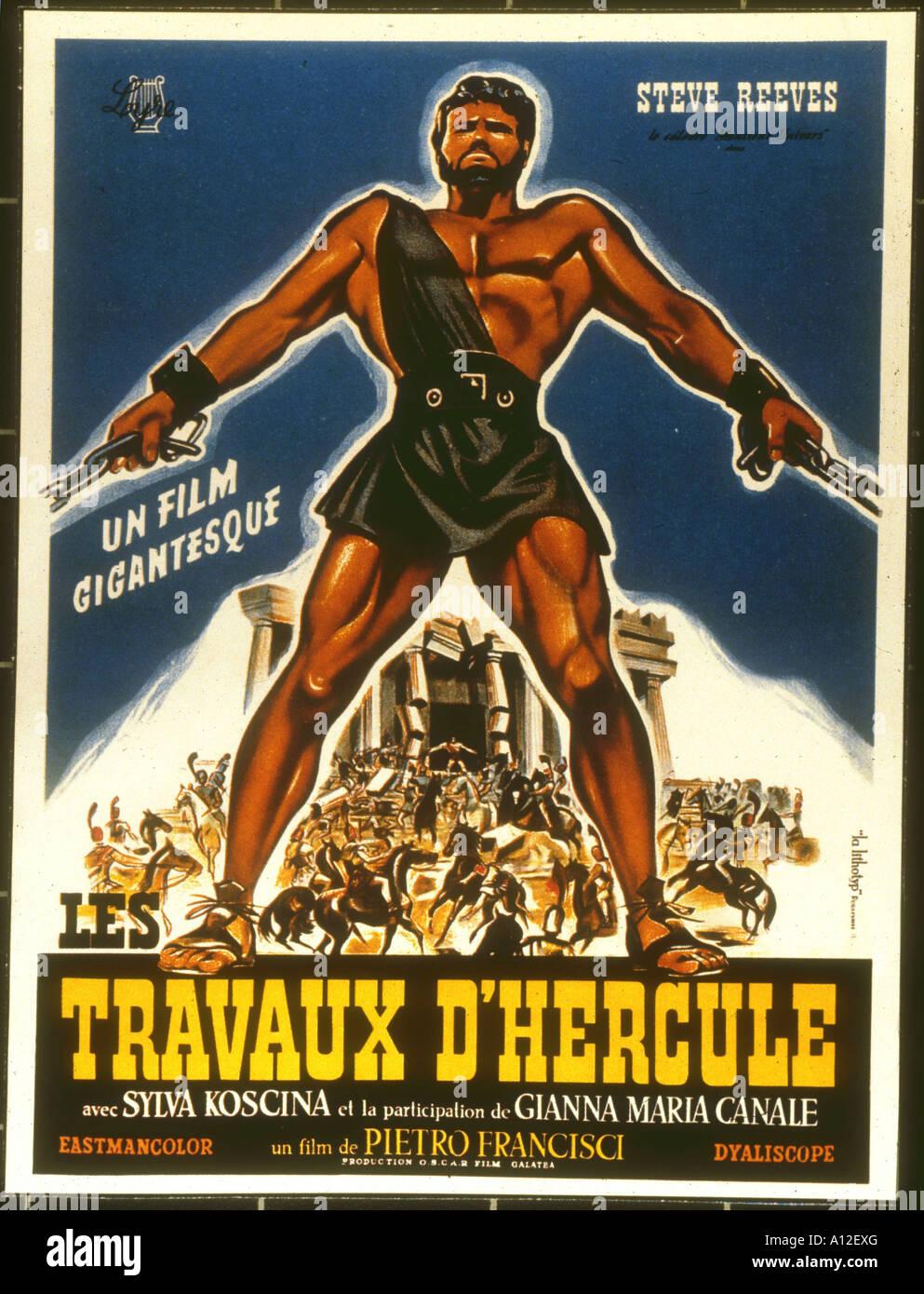 Le fatiche di Ercole (1958) - IMDb
