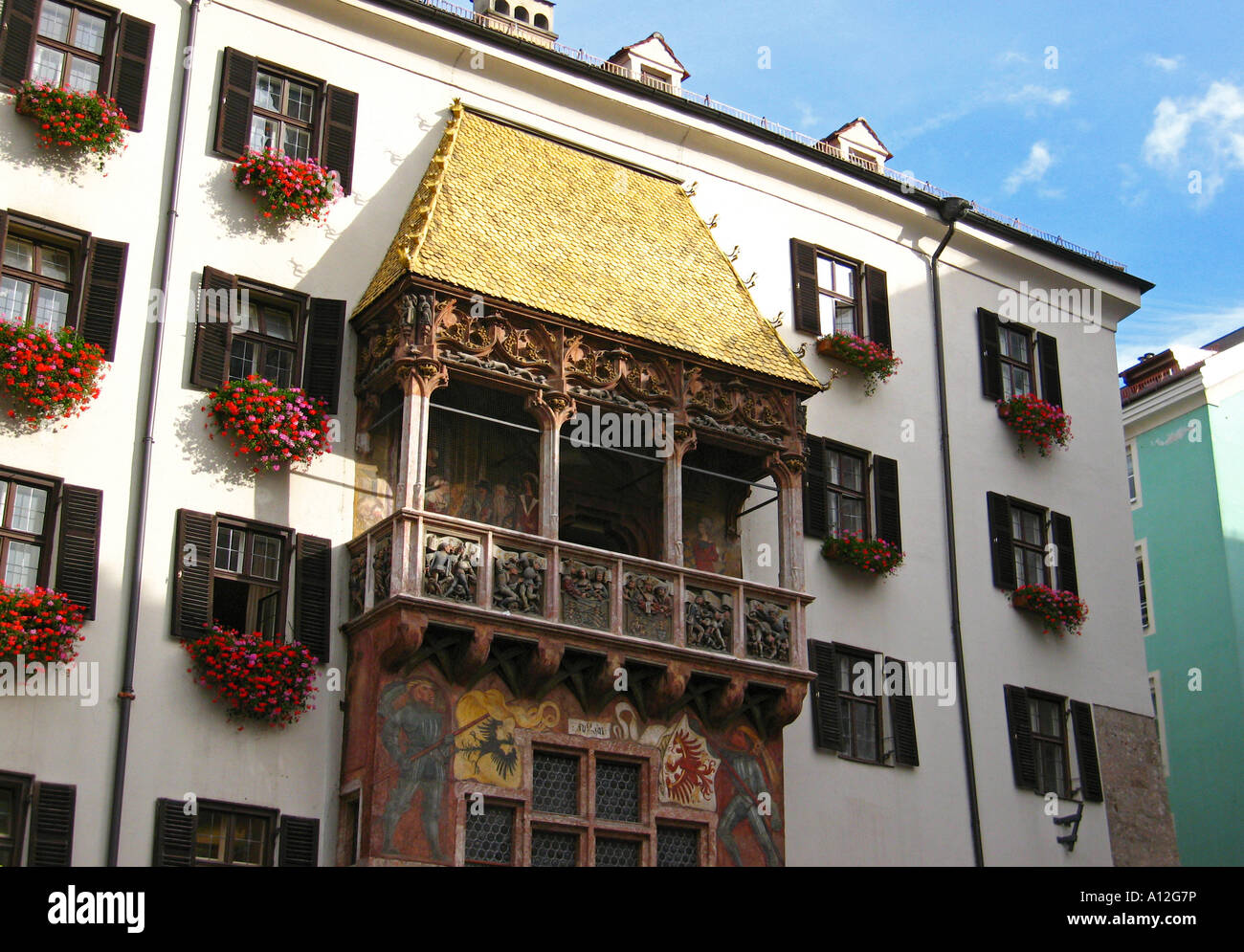 Old Town Golden Roof in Innsbruck Austria & Old Town Golden Roof in Innsbruck Austria Stock Photo Royalty ... memphite.com