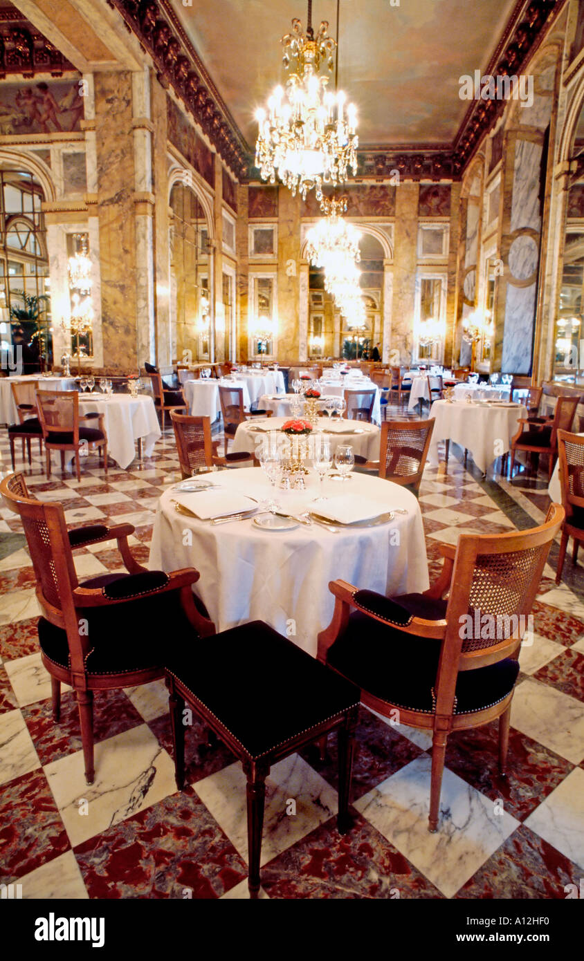 Paris france french les ambassadeurs haute cuisine for Restaurant cuisine francaise paris
