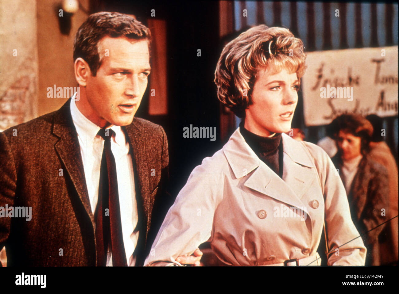 Torn curtain julie andrews - Stock Photo Torn Curtain Year 1966 Director Alfred Hitchcock Paul Newman Julie Andrews