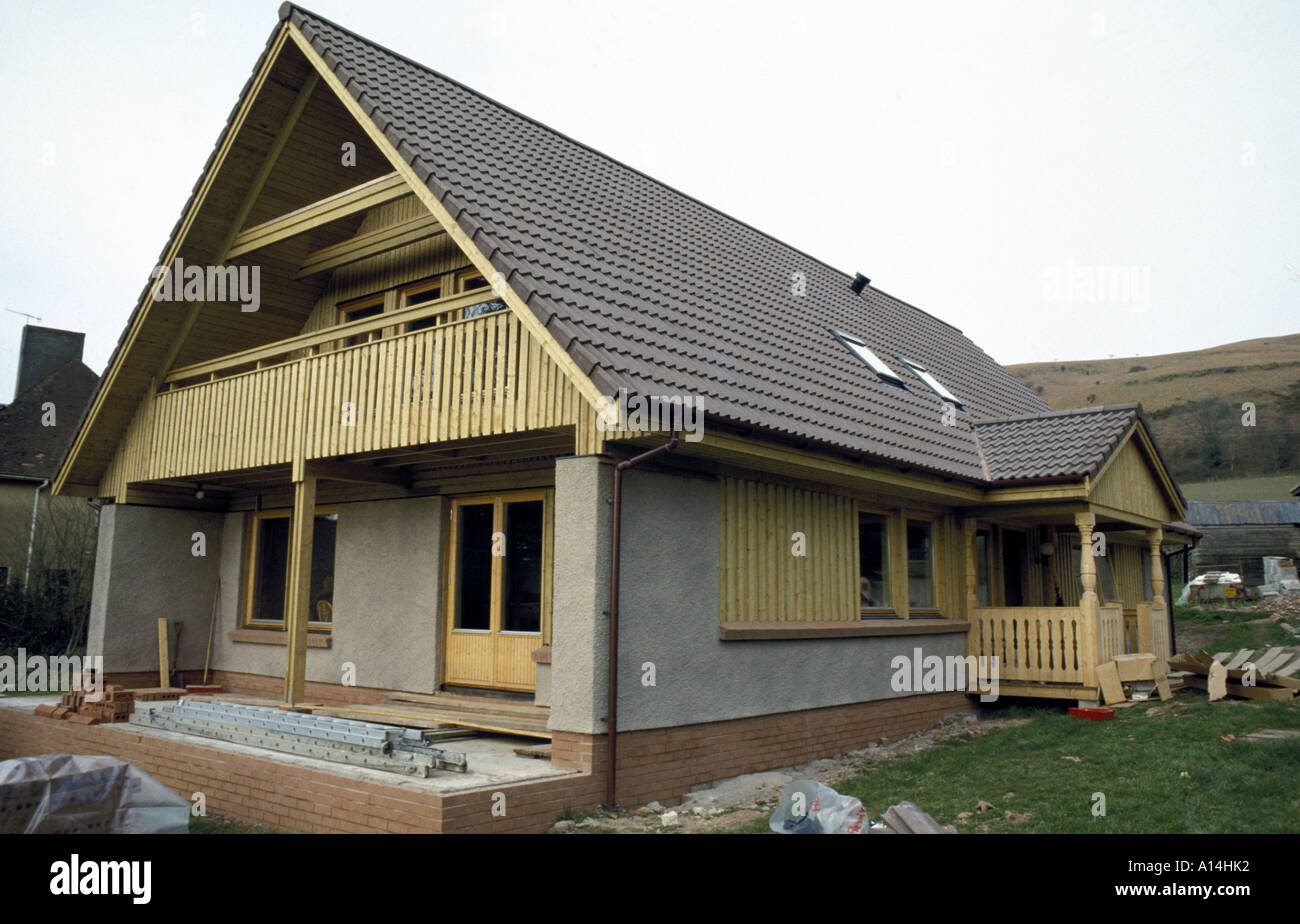 Scandinavian Style Kit House With Energy Saving Devices