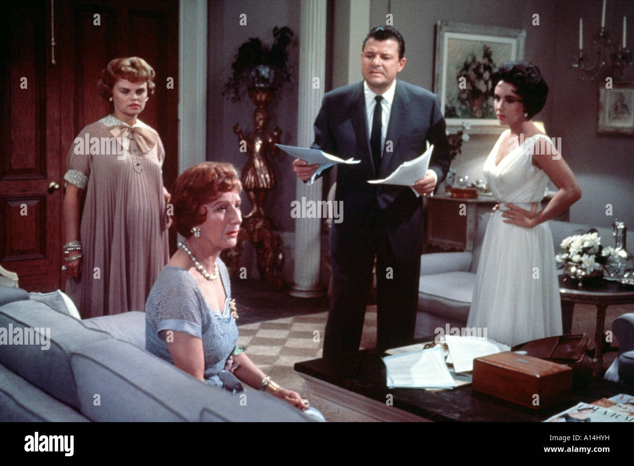 Cat On A Hot Tin Roof 1958 Richard Brooks Judith Anderson Elizabeth Taylor  Madeleine Sherwood Jack Carson