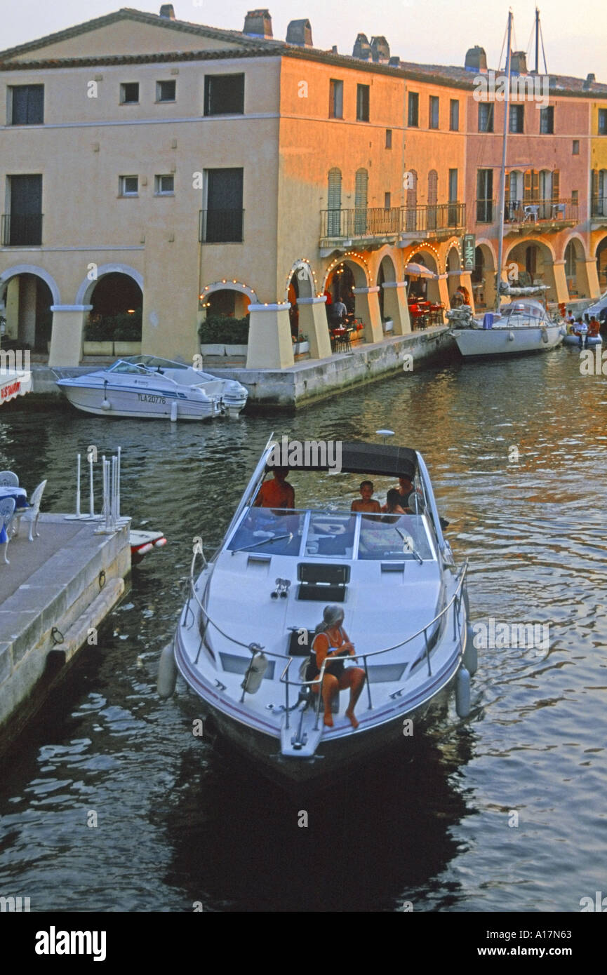 France holiday village and canals port grimaud cote d azur - Cote d azur holidays camping port grimaud ...