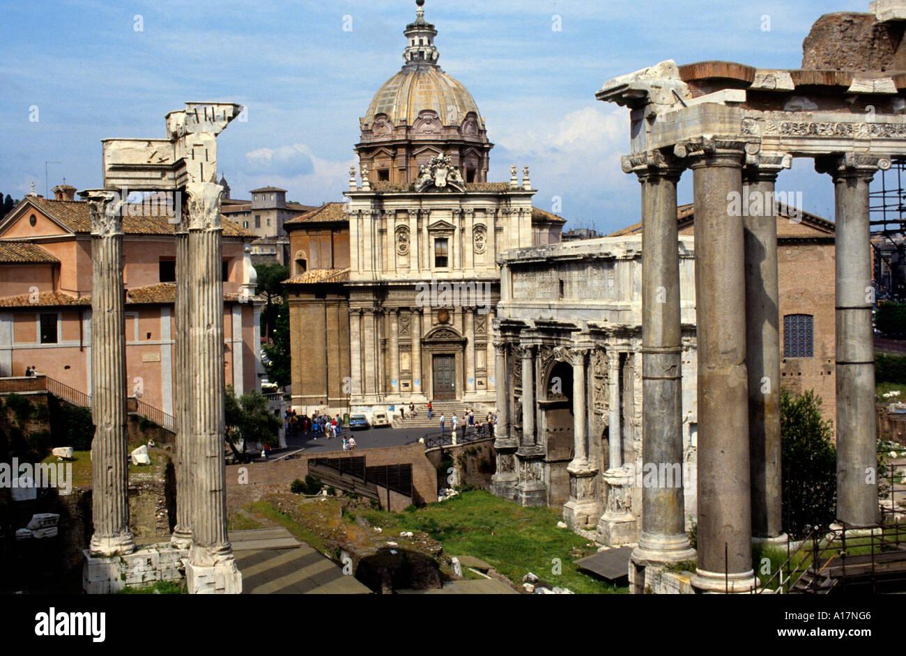 City/Forum Romanum, Rome, Italy
