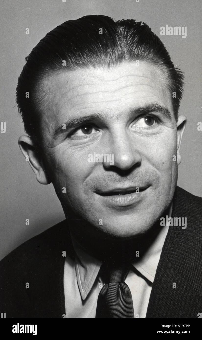 FERENC PUSKAS Hungarian footballer 1927 to 2006 Stock