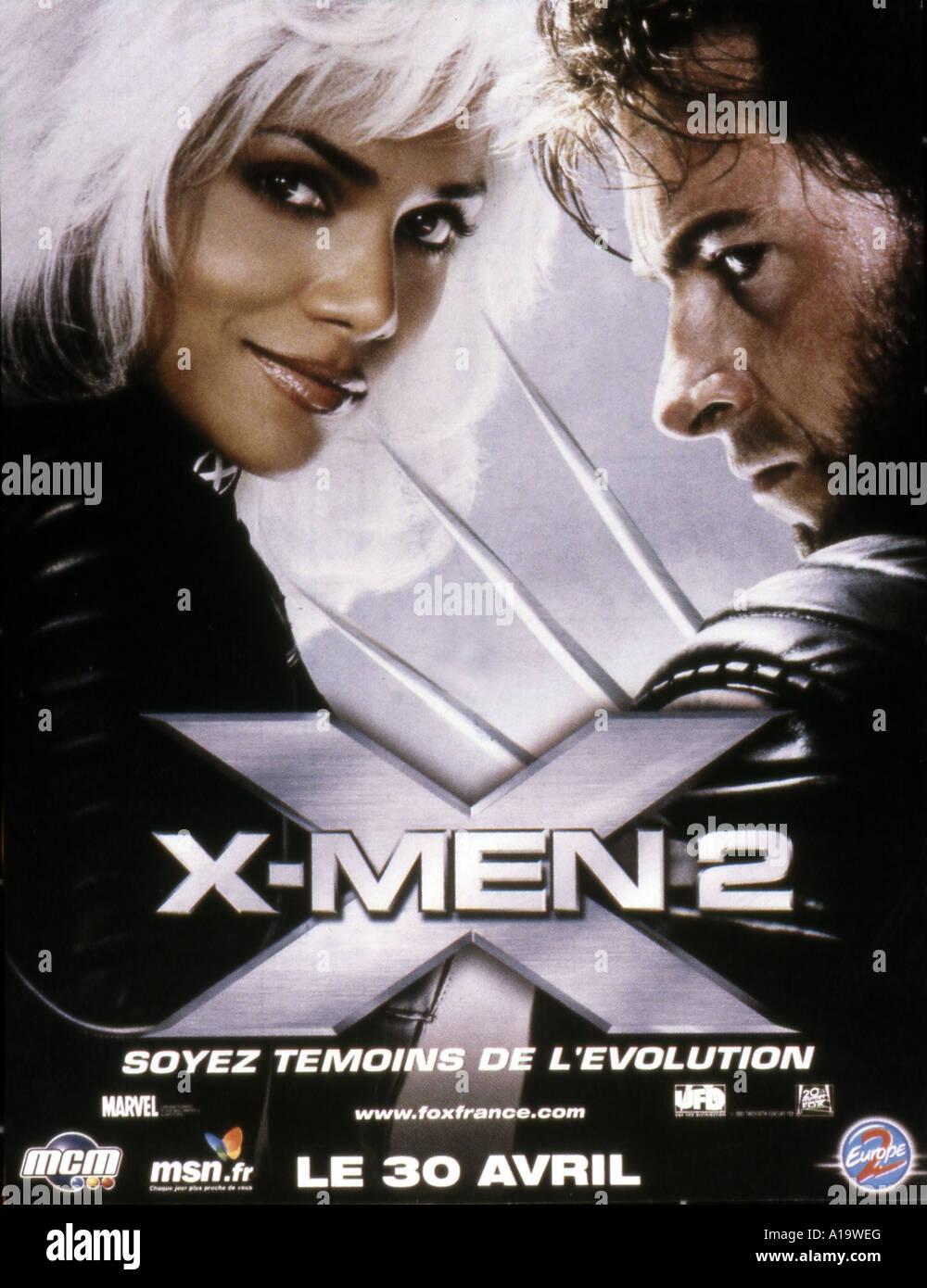 X2 Poster X2 Year 2003 Di...