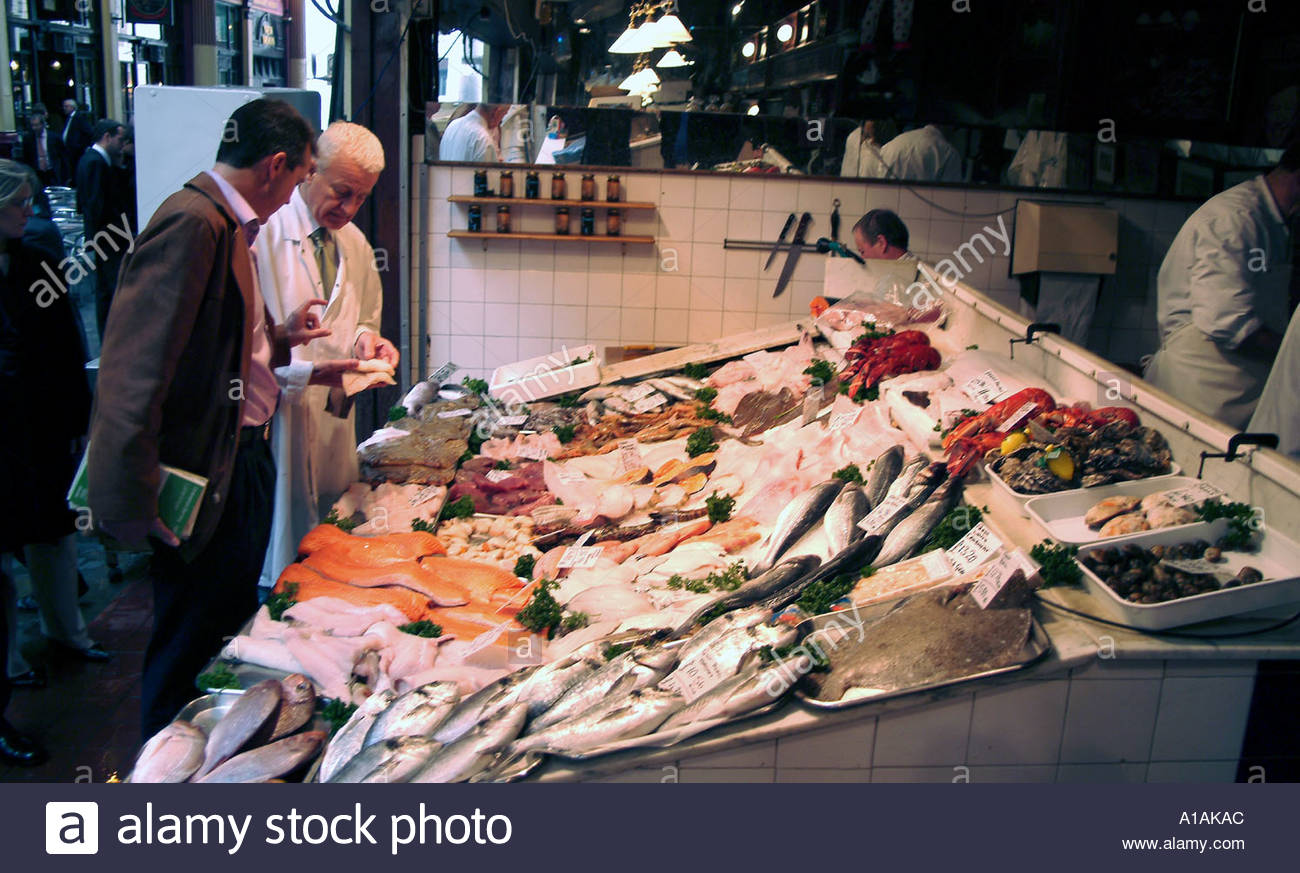 H s linwood sons fishmonger leadenhall market city of for H s bains sons
