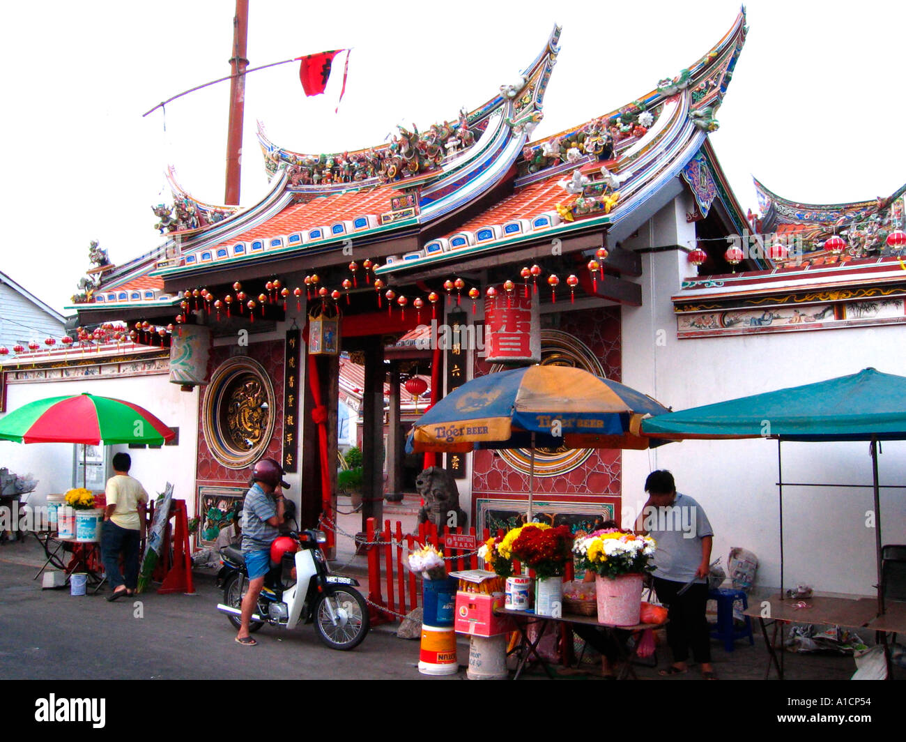 Oldest Chinese Temple In Malaysia   th Century Cheng Hoon Teng     Alamy