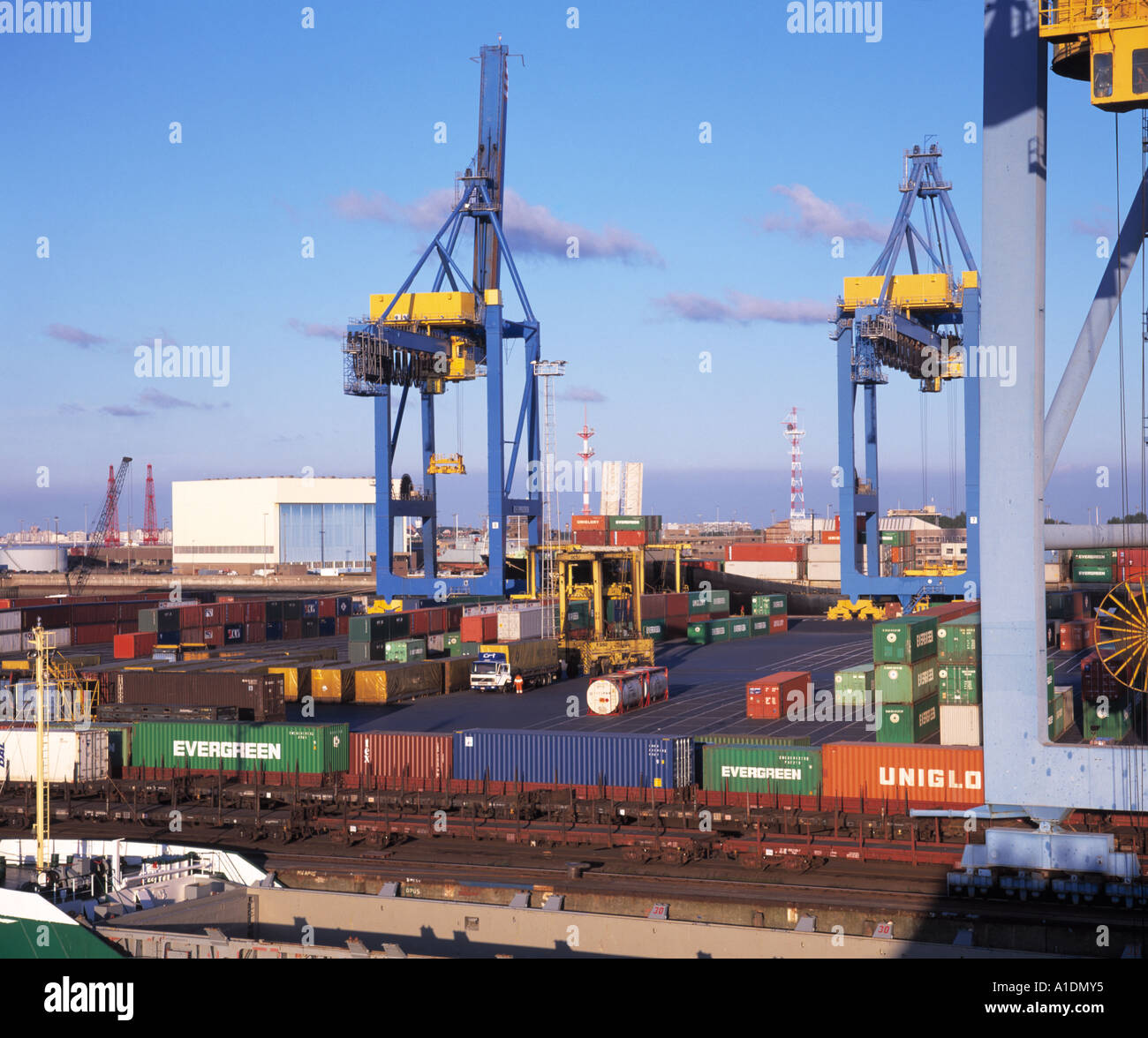 Belgium zeebrugge ferry container terminal stock photo royalty free image 5844148 alamy - Where is zeebrugge ferry port ...