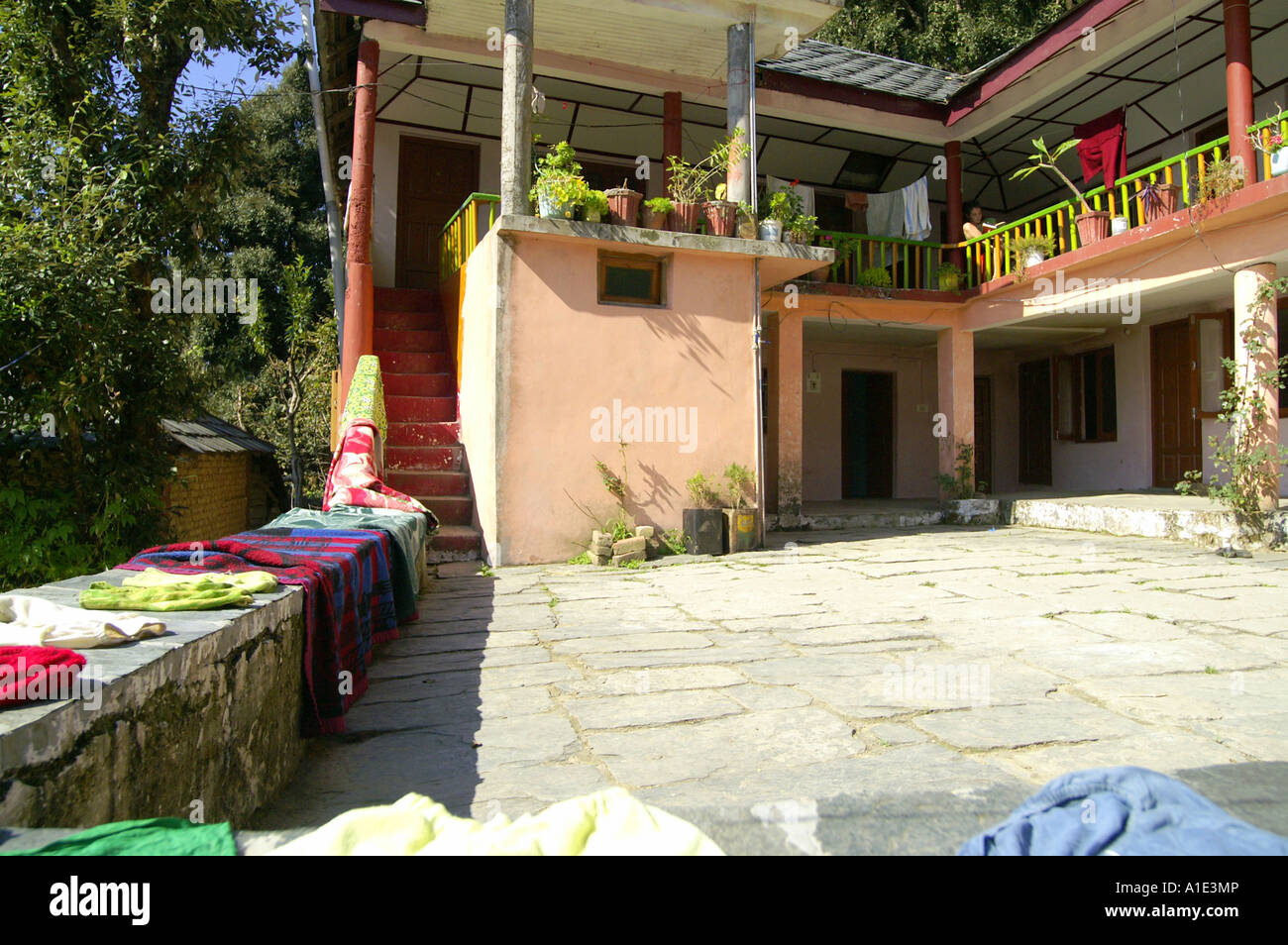 Typical indian village house the image for Terrace india