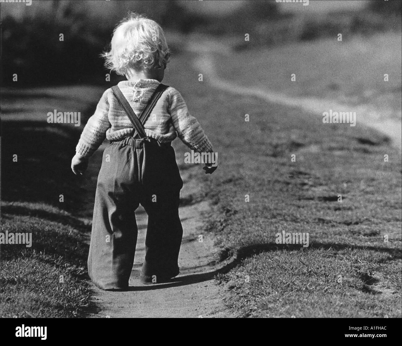 child walking away - photo #17